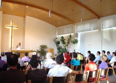 Iulie 2010 – Serviciu divin