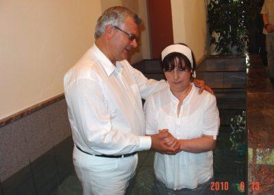 Iunie 2010 – Serviciu de botez