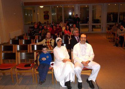 Ianuarie 2011 – Serviciu de botez