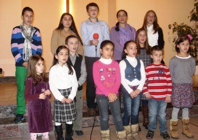Octombrie 2012 – Serviciu de botez