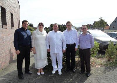 Septembrie 2016 – Serviciu de botez