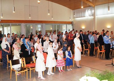 Septembrie 2017 – Serviciu de botez