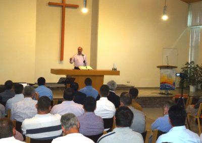 August 2018 – Serviciu divin cu fr. Virgil Neagu